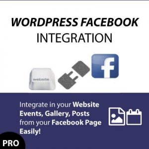 Facebook Gallery/Events/Posts/Slideshow with WP FACEBOOK INTEGRATION PREMIUM