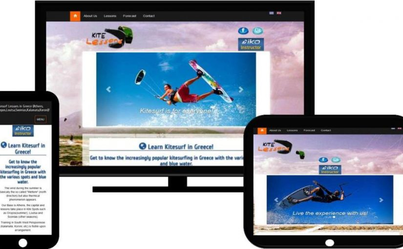 Kitesurf,.psaxno.eu | Web development - Seo