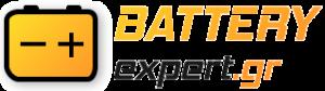 BATTERY EXPERT.GR LOGO | sxediasmos logotypou