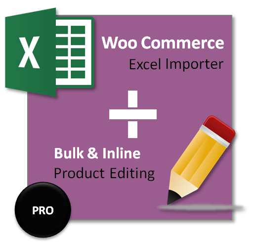 woocommrce product excel importer and bulk editor
