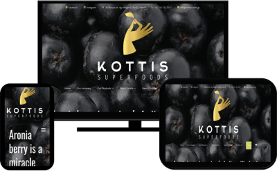 Aronia Kottis Greek Distributor - Woocommerce Eshop Building